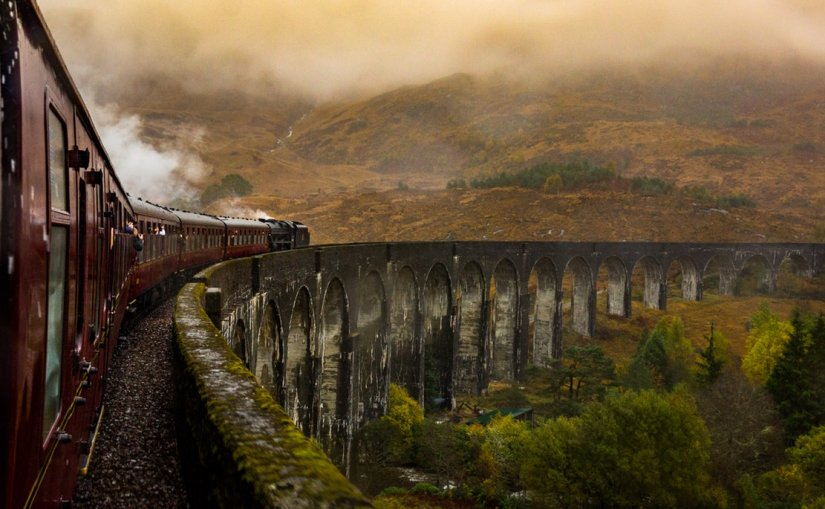Jacobite steam train, Voyage Ecosse