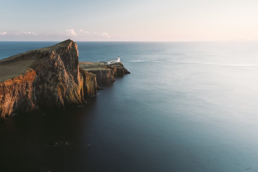 Neist Point Lighthouse, Ile de Skye, Ecosse