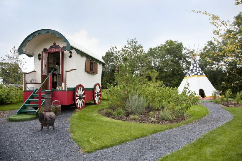 Glamping, Roulotte et Tipi, Irlande du Nord, Armagh