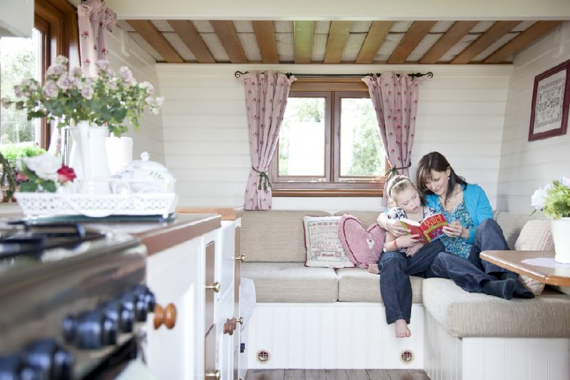 Glamping, Roulotte, Irlande du Nord, Armagh