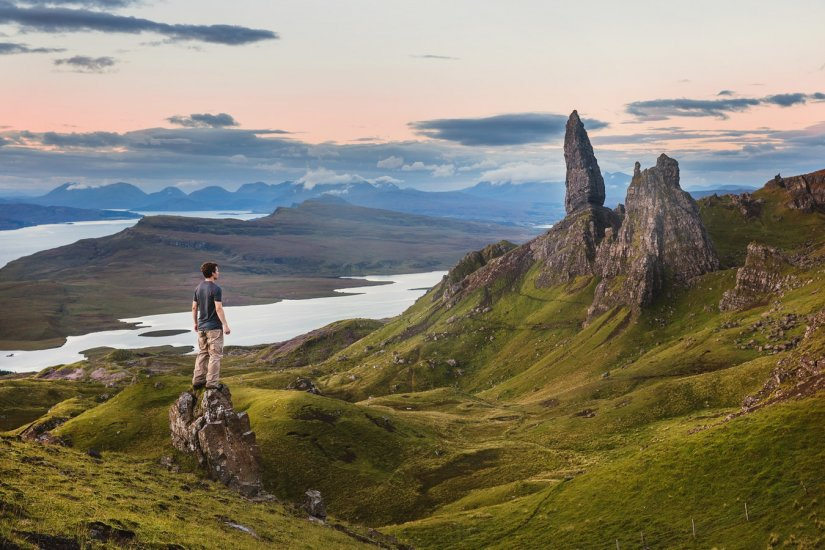 Old Man of Storr, Ile de Skye, Ecosse