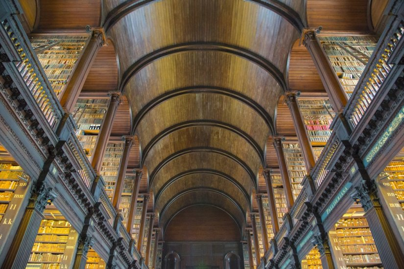 Old library Trinity College Dublin