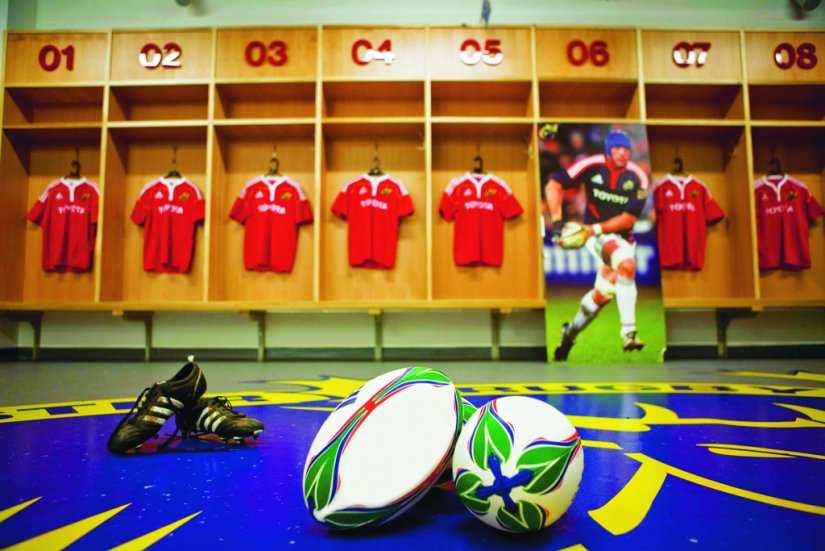 Vestiaires Munster Thomond Park