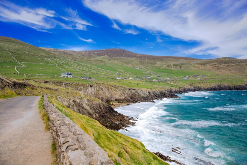 Peninsule de Dingle en Irlande