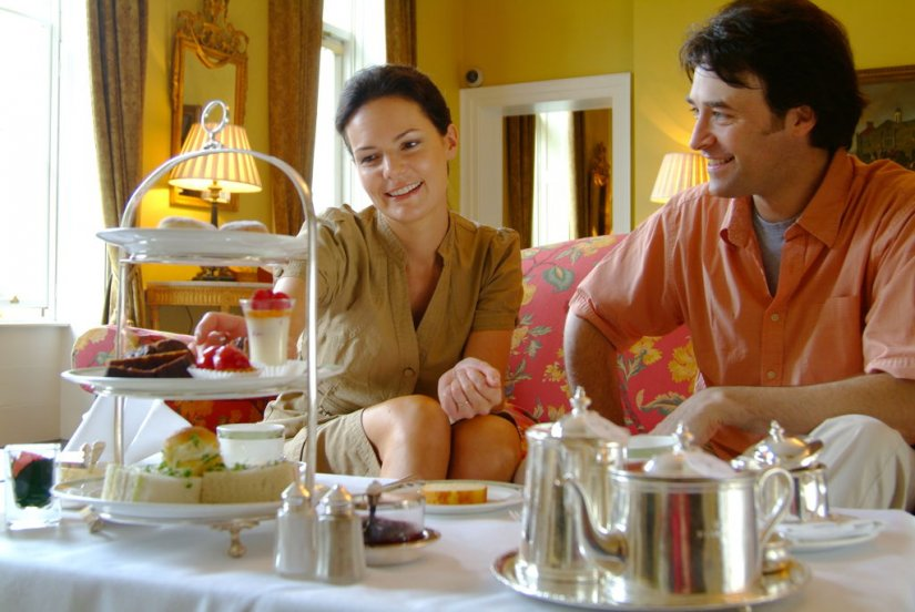 Afternoon Tea en couple, en Irlande, Dublin