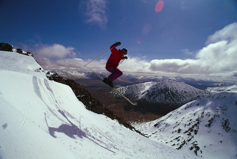 Ski en Ecosse sur Glencoe Mountain Resort, Highlands