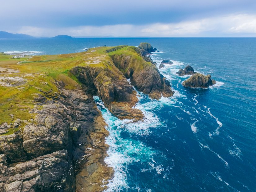 Malin Head, Lieu tournage Film Star Wars Irlande