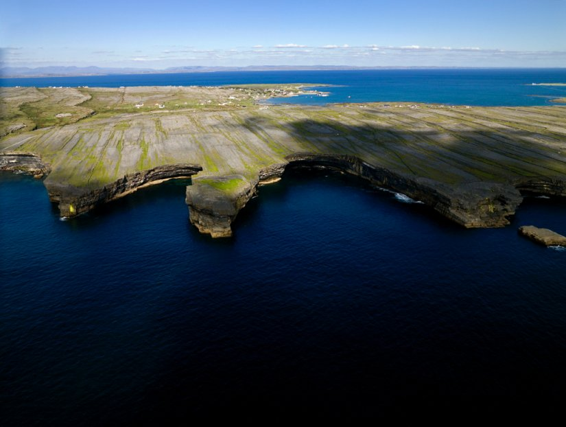 Aran Islands au large de Galway